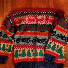 VINTAGE LOVE: genser fra 80 tallet
