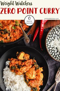 This Chicken, Lentil and Spinach curry is Zero Smart Points on Weight Watchers Freestyle plan. Simple to make and freezer friendly, this zero point curry is a perfect weight watchers dinner for any night of the week. Weight Watcher Dinners, Weight Watchers Lunches, Weight Watchers Meal Plans, Weight Watchers Diet, Weigh Watchers, Poulet Weight Watchers, Plats Weight Watchers, Weight Watchers Chicken, Ww Recipes