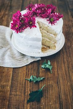 Hummingbird High - A Desserts and Baking Food Blog in Portland, Oregon: Tres Leches Cake with Coconut Chantilly Frosting