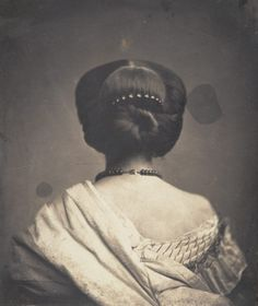 Woman Seen from the Back ca. 1862