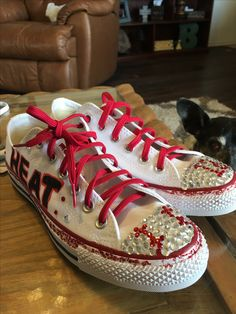Bling baseball shoes