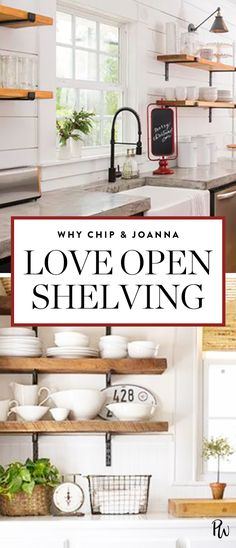 Chip & Joanna Gaines on How Real Parents Deal with Open Shelving