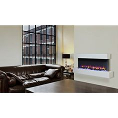 7 best white glass truflame wall mounted electric fire with pebbles rh pinterest com