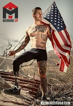 Extremely Sexy Marine Turns Underwear Model After Losing His Leg (PHOTO)