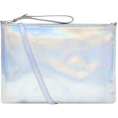 Accessorize Claudia Holographic Leather Cross Body Bag (€46) ❤ liked on Polyvore featuring bags, handbags, shoulder bags, genuine leather handbags, holographic purse, leather shoulder bag, crossbody purses and leather cross body handbags