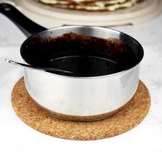 Wielu ciast nie wyobrazam sobie bez polewy czekoladowej, a jaki jest na nia najlepszy sposob?To wlasnie ten domowy :)Przepis z zeszytu mojej Mamy :)Sprobujcie :)Skladniki :100g masla lub margaryny50g kakao120g cukru pudru4 lyzki mlekaPrzygotowanie:Margaryne lub maslo na polewe rozpuszczamy w rondelk... Frosting, Delish, Baking, Cake, Food, Drinks, Recipes, Gastronomia, Sweet Recipes