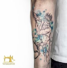 "Tatuaggificio on Instagram: ""Poseidon realizzato da ➡️ @saveriodamianiart ⬅️ #poseidontattoo #tattoo #tattoodo #tattooselection # #ink #instatattoo #inkstagram…"" Poseidon Tattoo, Sleeve Tattoos, Watercolor Tattoo, Instagram, Ideas, Tattoo Sleeves, Thoughts, Arm Tattoo, Temp Tattoo"