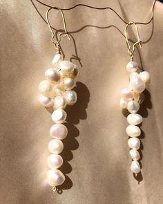 "@empejewelry on Instagram: ""The KNOT earrings #empejewelry#custom#pearls"" Knots, Helmet, Pearl Earrings, Pearls, Instagram, Jewelry, Pearl Studs, Jewlery, Jewels"