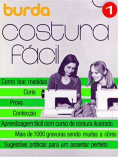Burda costura fácil - volumes 1, 2 e 3