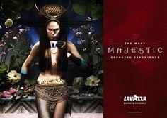 Coffee Bath, Espresso Coffee, Mad Men, Fairytale, Campaign, Advertising, Wonder Woman, Inspirational, Magazine