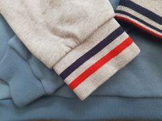 Coudre un bord-côte pour terminer les bords d'un vêtement est facile et rapide. Vendu au mètre, vous pouvez aussi le couper dans de la maille ou du tricot. Techniques Couture, Sewing, Assemblage, Dressmaking, How To Sew, Helpful Tips, Sewing Baby Clothes, Sewing Tips, Couture