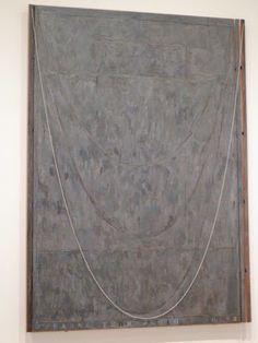 Jasper Johns, Near the Lagoon, Chicago Art Institute
