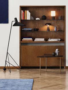 Tripod HM8 - skandinavische Stehleuchte von &tradition im Mid-Century Design #leuchten #stehlampe #einrichten