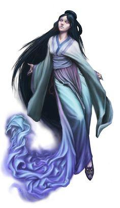 Chinese Ghost - Feng Shui by BrittMartin.deviantart.com on @DeviantArt