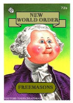 NWO Card Series 1 (Garbage Pail Kids) - The Real Truth Movement