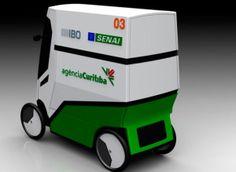 Carro elétrico é perfeito para vendedores ambulantes | CASA.COM.BR Side Door, Electric Motor, Cord Automobile, Strollers, Home