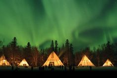 northern lights, aurora borealis, Native Northwest Territories.. travel bucket list!!