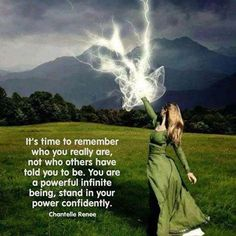 When we incarnate to Earth ~ we forget just what powerful ~ Infinite beings ~ we…