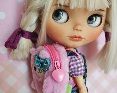 OOAK Custom Blythe Doll NIA by Cihui par BlythebyCihui sur Etsy
