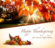 Happy Thanksgiving from ATS!