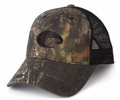 Costa Mesh Mossy Oak Camo Trucker Hat. Costa Del Mar ... 6107c389bc84