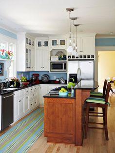 Kitchen configuration.