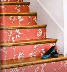 More wallpaper stairs!