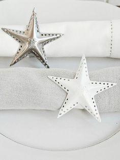 making star napkin rings