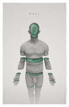 MAAL 004, Philip Harris-Genois on ArtStation at https://www.artstation.com/artwork/RDDJD
