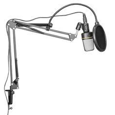 Dragonpad Microphone Scissor Arm Stand
