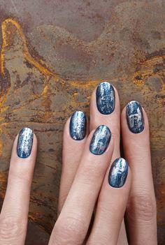 Ideas nail art! Visita www.facebook.com/volantisJD para ver una amplia gama de colores de esmaltes de uñas! #nails