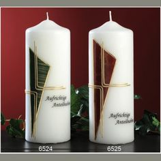 Pillar Candles, Design, Candles, Easter Candle, Easter Activities, Templates, Deco
