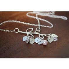 Mother's/Grandmother's Branch Initial Necklace - $42.00