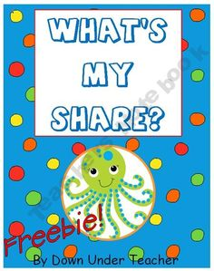 Freebie: What's my Share? division concept activity