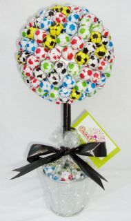 Chocolate Football Sweet Tree MEDIUM
