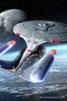 "The Enterprise D - Star Trek: The Next Generation - ""Why can't I afford a cool ship like that!"""