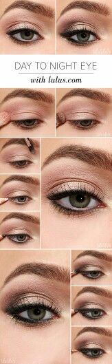 Day to Night: eye makeup