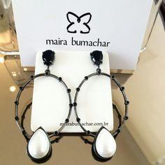 Nosso mais novo brinco já disponível nas lojas!!!!  www.mairabumachar.com.br #pedidosporwhatsapp (11)997440079