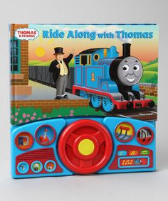 Take a look at this Ride Along with Thomas Board Book by Thomas & Friends on #zulily today!