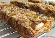 For the Love of Cooking » Homemade Granola Bars