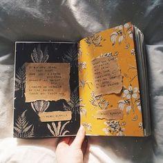 Art Journal Inspiration: Art journal, art journal inspiration, art journal ideas, notebook ideas, bullet journal ideas #art #artjournal #artjournaling