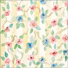 "Dinglefoot's Scrapbooking - Watercolor Posies and Stripes 12"" x 12"" Scrapbook Paper, $0.85 (http://www.dinglefoot.com/watercolor-posies-and-stripes-12-x-12-scrapbook-paper/)"