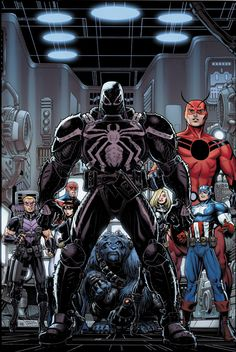 Secret Avengers is such a great roster and plot. Covert ops Avengers with a little muscle sprinkled in with Captain Britain and Valkerie