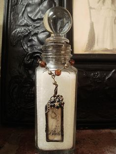 Witches Spell Bottle