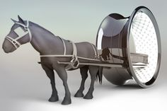 Last_Ride_by Hamid-Bekradi_horse drawn funeral carriage with hubless wheels http://hamidbekradi.com/