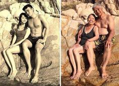 These Before & After Couple Photos Just Melted My Heart!