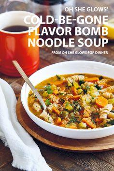 Noodle Soup, Tofu, Noodles, Vegan Recipes, Curry, Glow, Dinner, Ethnic Recipes, Magazine