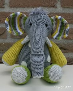 Stip en Haak Otto de olifant