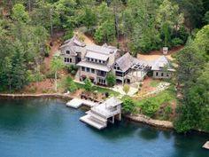 We Saw Nick Saban S House On Lake Burton Ga For Sale