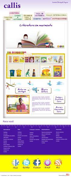 Site desenvolvido em Ruby on Rails para editora de livros infantis.